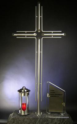 grabkreuze edelstahl preise metallteile verbinden. Black Bedroom Furniture Sets. Home Design Ideas